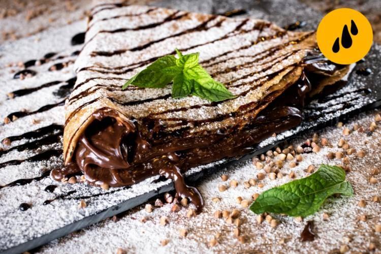 Clătită cu ciocolată